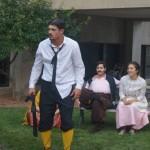 The madly used Malvolio (Ethan Hall)
